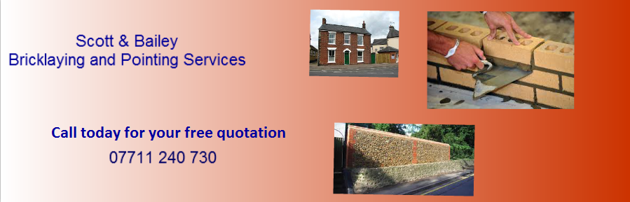 Bricklayers, Bricklaying And Pointing Contractors Newhay